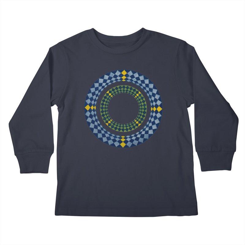 Diamond Encrusted Kids Longsleeve T-Shirt by Damon Davis's Shop