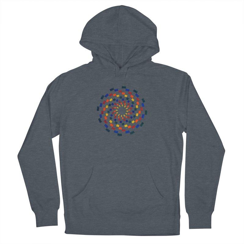 Color Vortex Men's Pullover Hoody by Damon Davis's Shop