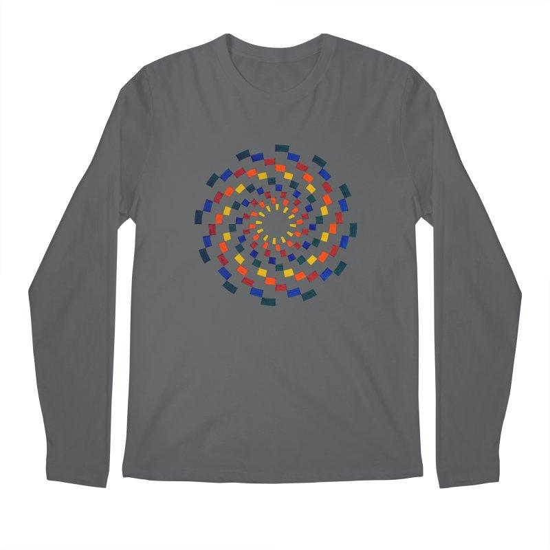 Color Vortex Men's Longsleeve T-Shirt by Damon Davis's Shop