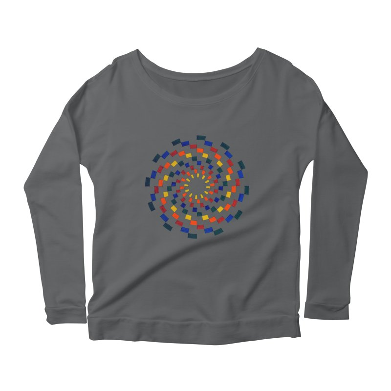 Color Vortex Women's Longsleeve T-Shirt by Damon Davis's Shop