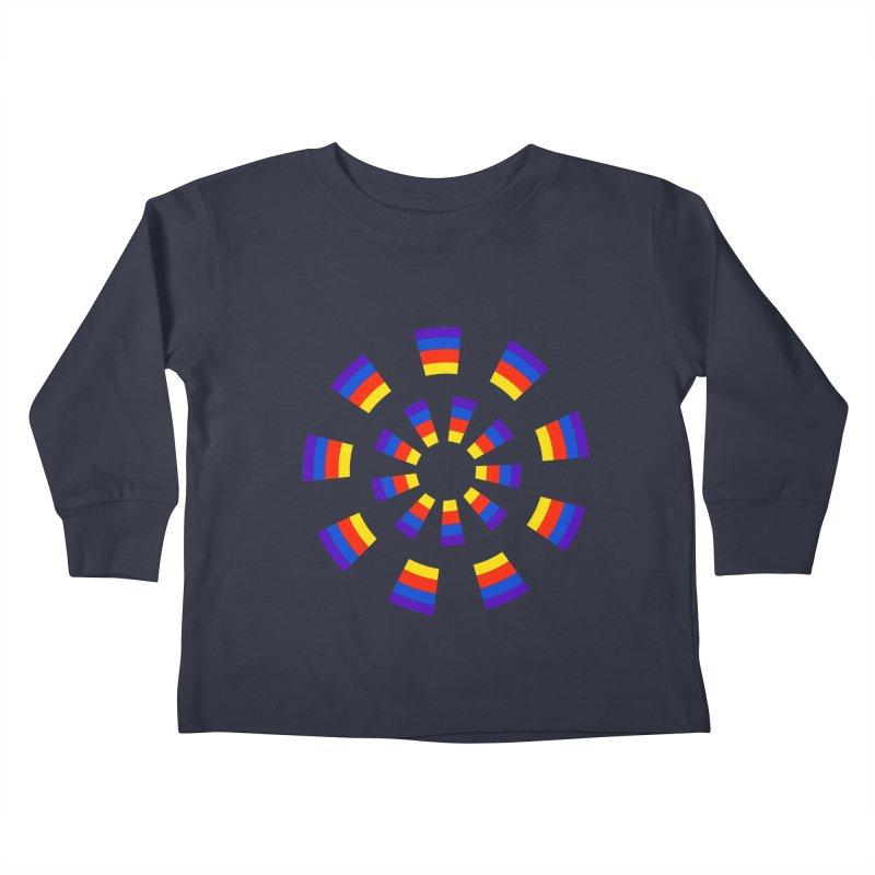 Midnight Sun Kids Toddler Longsleeve T-Shirt by Damon Davis's Shop