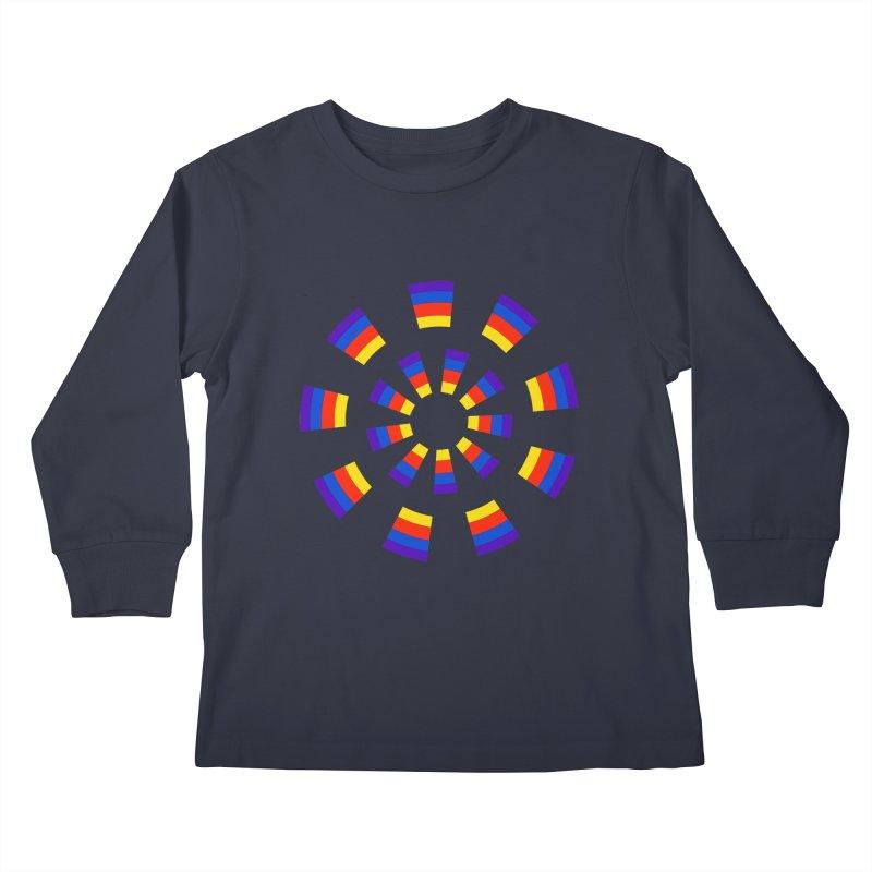 Midnight Sun Kids Longsleeve T-Shirt by Damon Davis's Shop