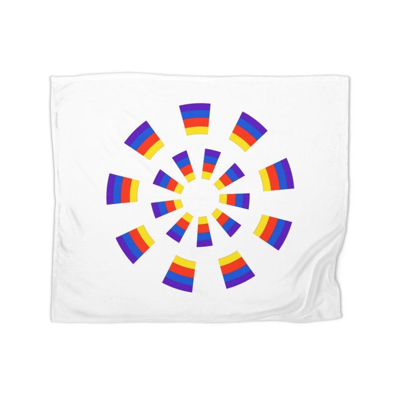 Midnight Sun Home Blanket by Damon Davis's Shop
