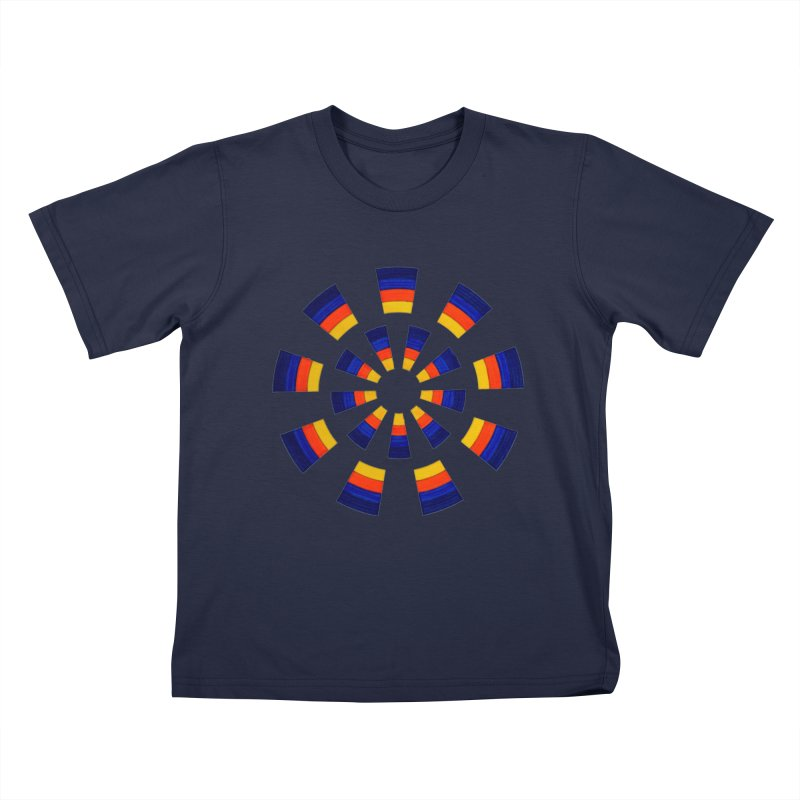Midnight Sun Kids T-Shirt by Damon Davis's Shop
