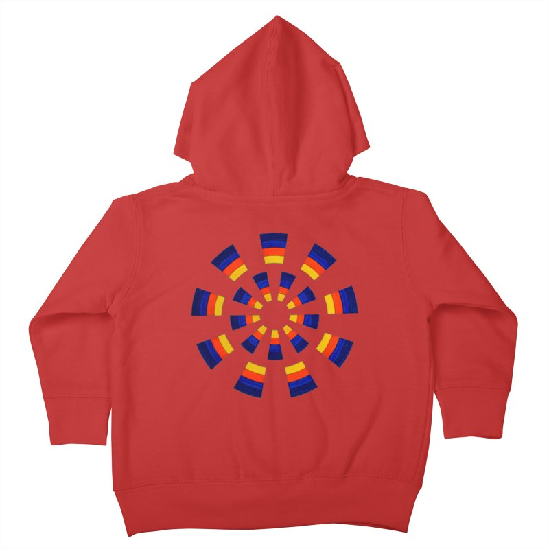 Midnight Sun Kids Toddler Zip-Up Hoody by Damon Davis's Shop