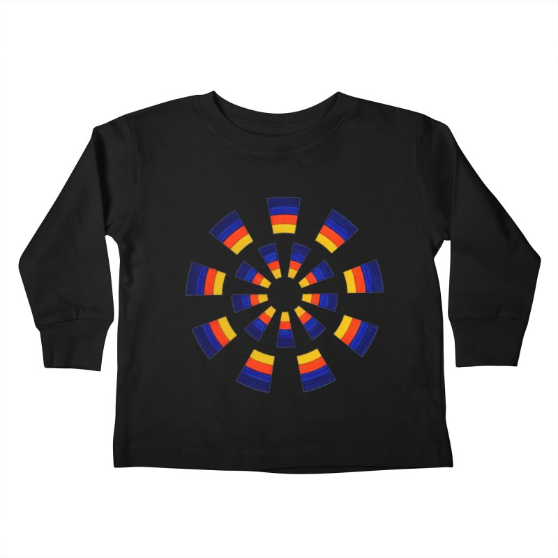 Midnight Sun Kids Toddler Longsleeve T-Shirt by Damon Davis's Shop