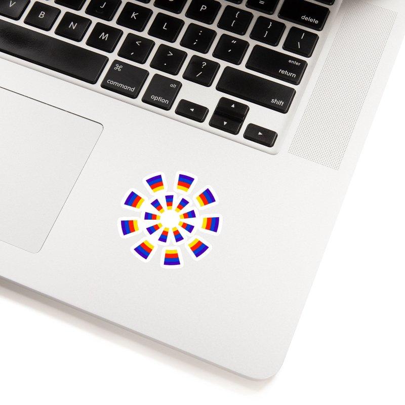 Midnight Sun Accessories Sticker by Damon Davis's Shop
