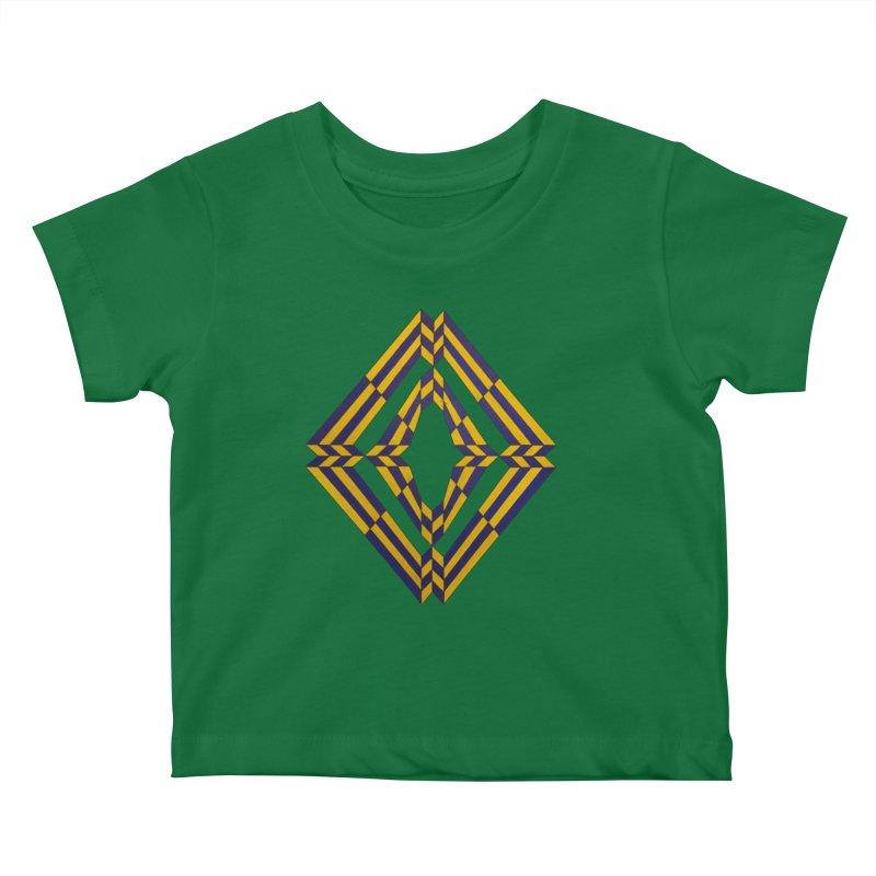 Star Crossed Kids Baby T-Shirt by Damon Davis's Shop