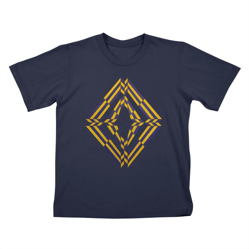 Star Crossed Kids T-Shirt by Damon Davis's Shop