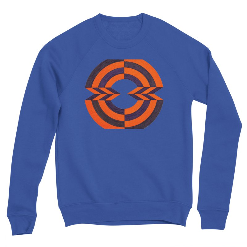 Orange Plum Men's Sweatshirt by Damon Davis's Shop