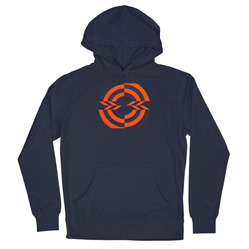 Orange Plum Men's Pullover Hoody by Damon Davis's Shop