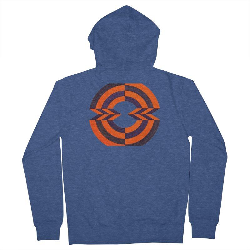 Orange Plum Women's Zip-Up Hoody by Damon Davis's Shop