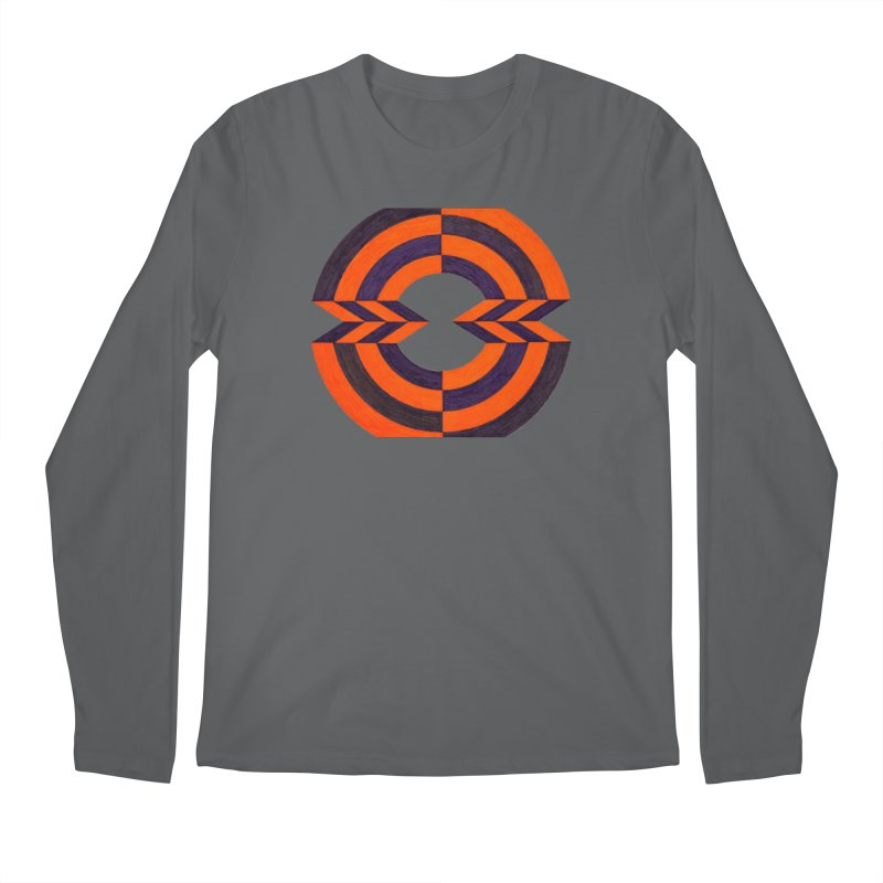 Orange Plum Men's Longsleeve T-Shirt by Damon Davis's Shop