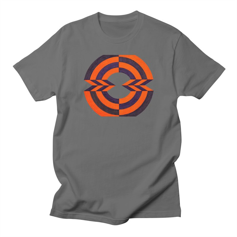 Orange Plum Men's T-Shirt by Damon Davis's Shop