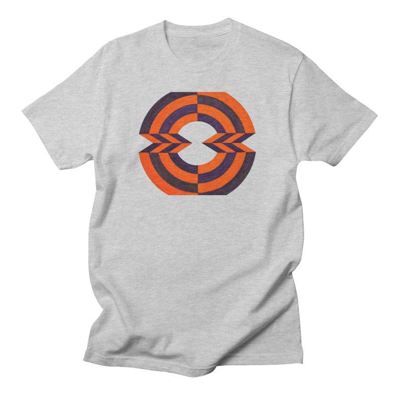 Orange Plum Men's T-Shirt by Damon Davis's Shop