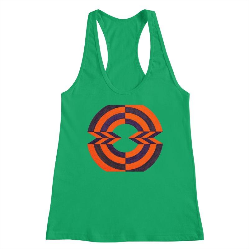 Orange Plum Women's Tank by Damon Davis's Shop