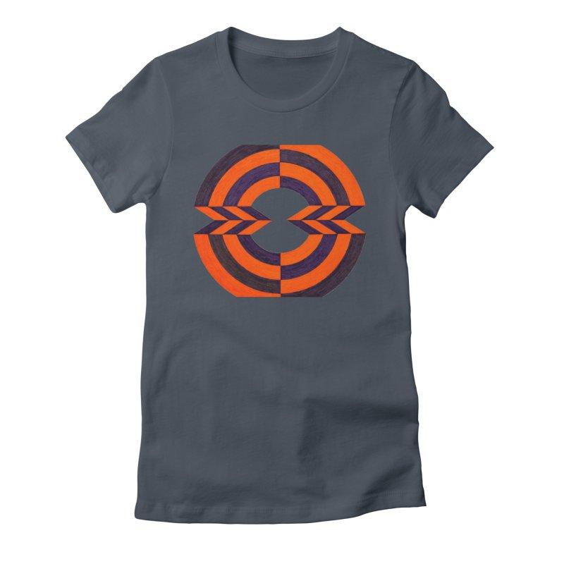 Orange Plum Women's T-Shirt by Damon Davis's Shop