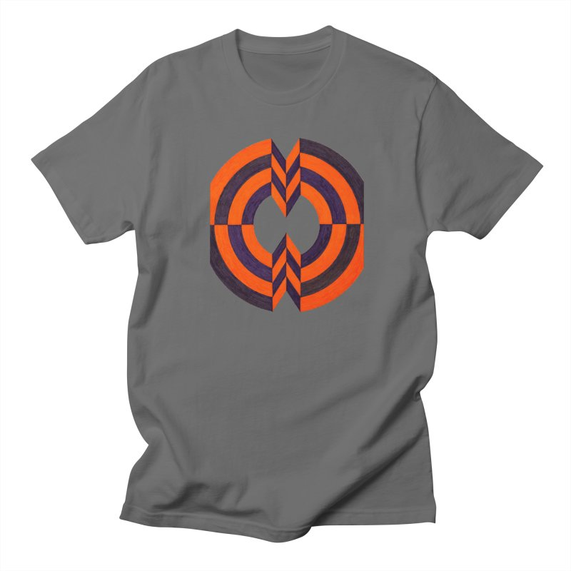 Plum Orange Men's T-Shirt by Damon Davis's Shop