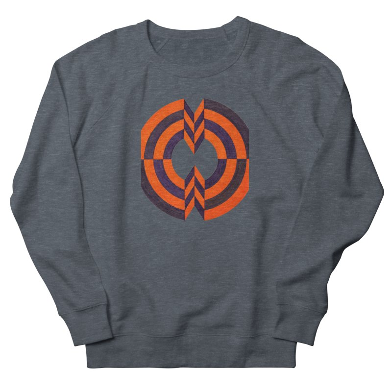 Plum Orange Men's Sweatshirt by Damon Davis's Shop