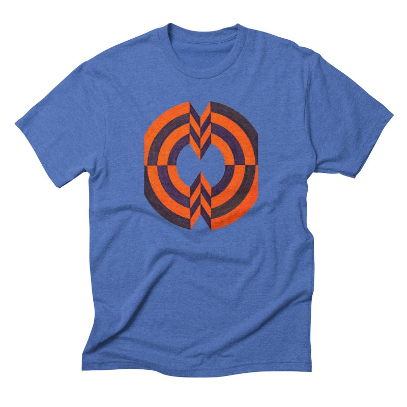 Plum Orange Men's T-Shirt by Damon Davis's Shop