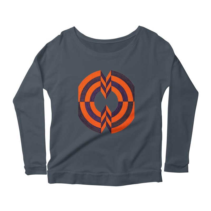 Plum Orange Women's Longsleeve T-Shirt by Damon Davis's Shop