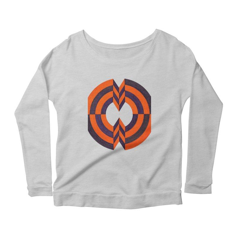 Plum Orange Women's Longsleeve T-Shirt by Damon Davis's Shop