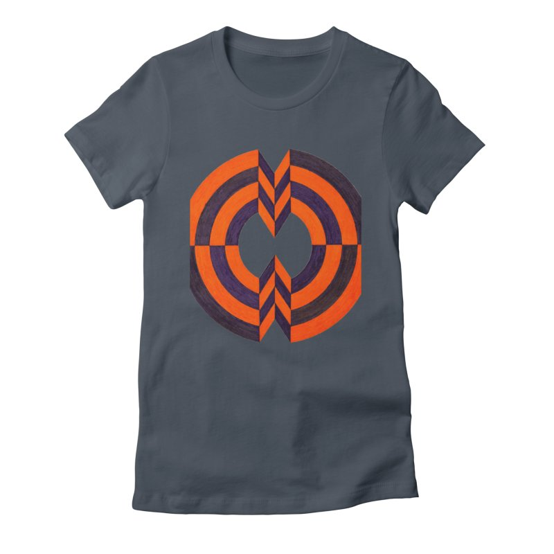 Plum Orange Women's T-Shirt by Damon Davis's Shop
