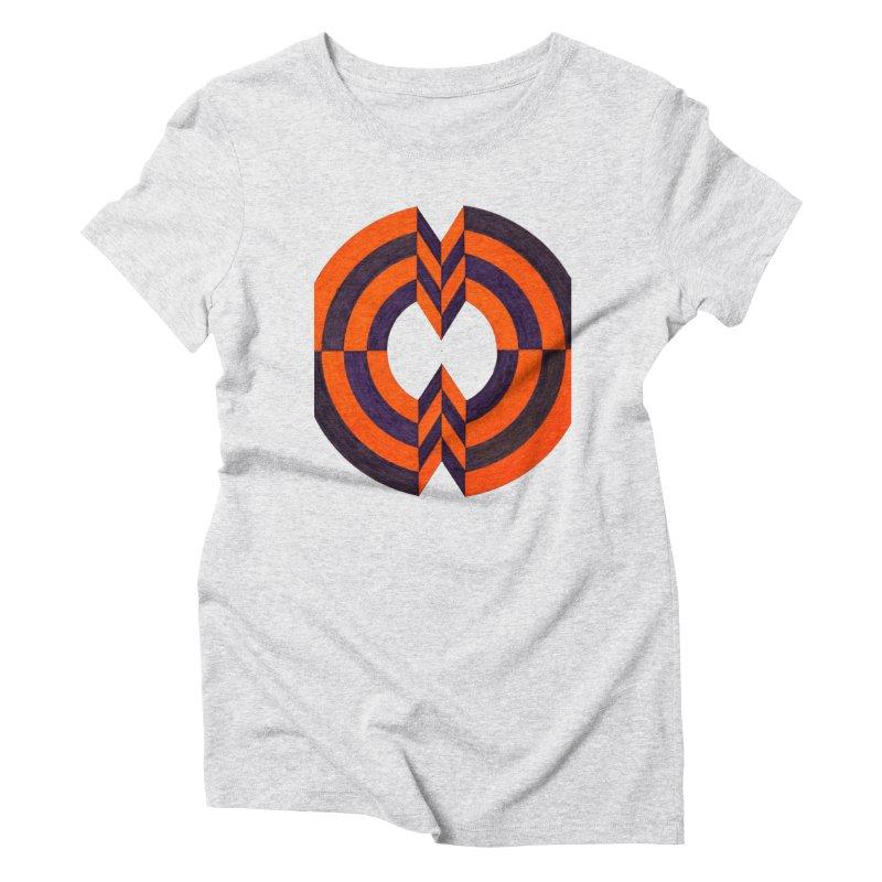 Plum Orange Women's T-Shirt by Damon Davis's Shop
