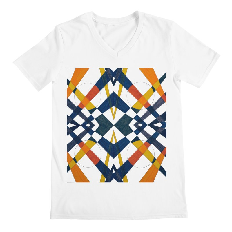 Every Which Way Men's V-Neck by Damon Davis's Shop