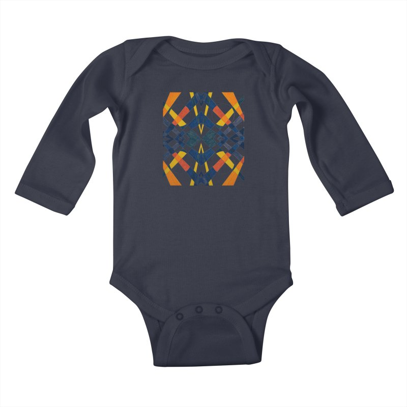 Every Which Way Kids Baby Longsleeve Bodysuit by Damon Davis's Shop