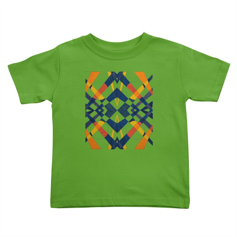 Every Which Way Kids Toddler T-Shirt by Damon Davis's Shop