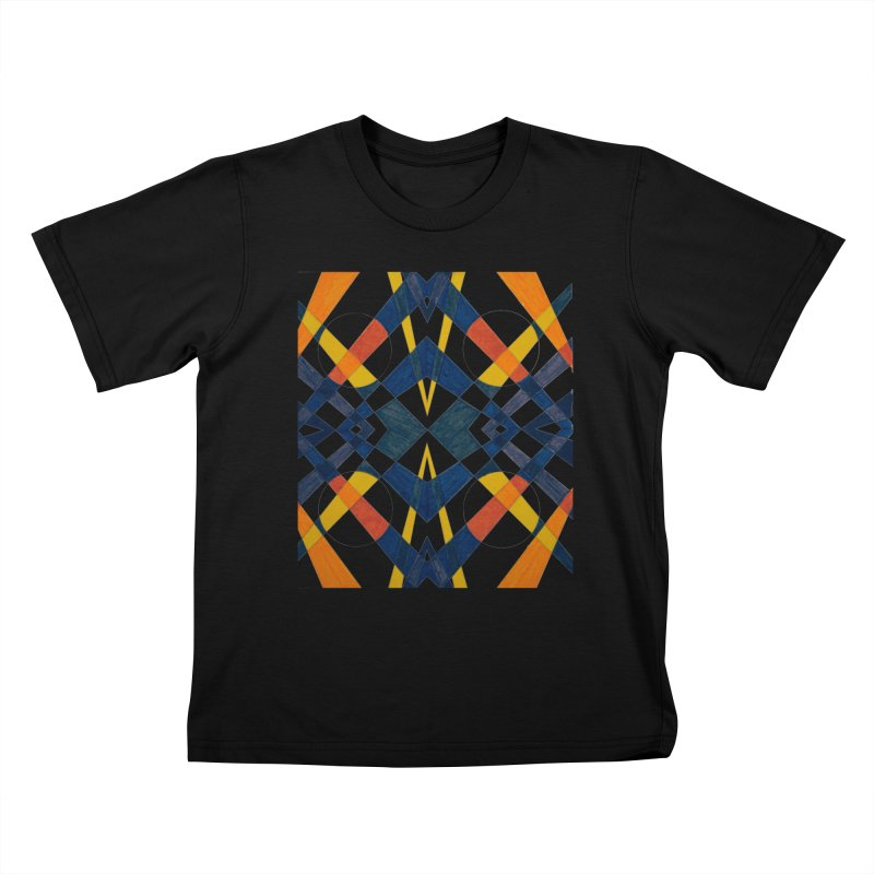 Every Which Way Kids T-Shirt by Damon Davis's Shop