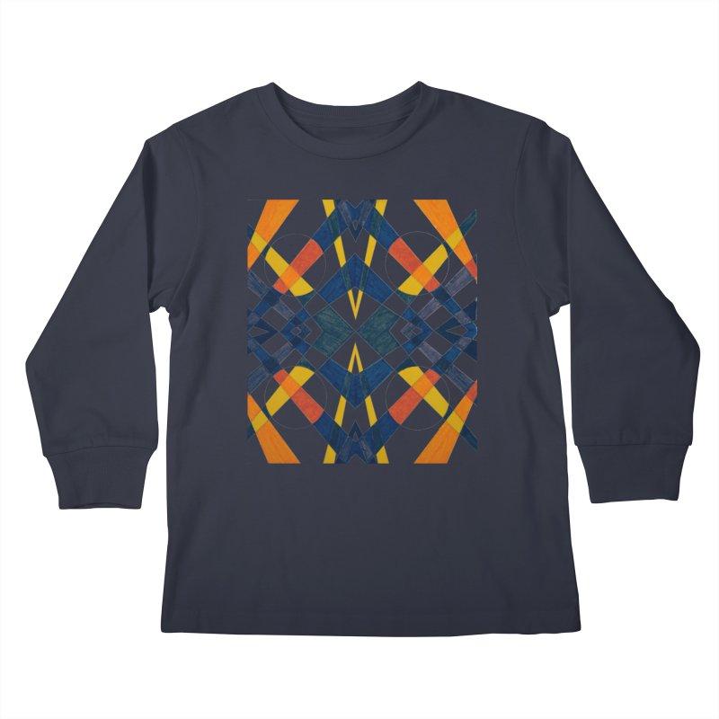 Every Which Way Kids Longsleeve T-Shirt by Damon Davis's Shop