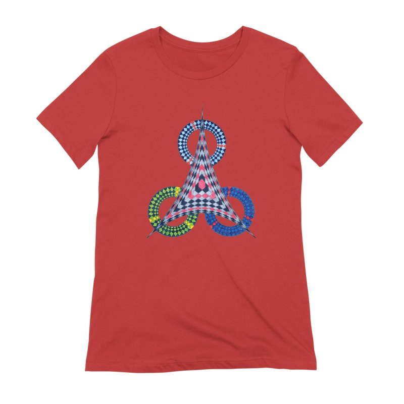 Triple Shot Women's T-Shirt by Damon Davis's Shop