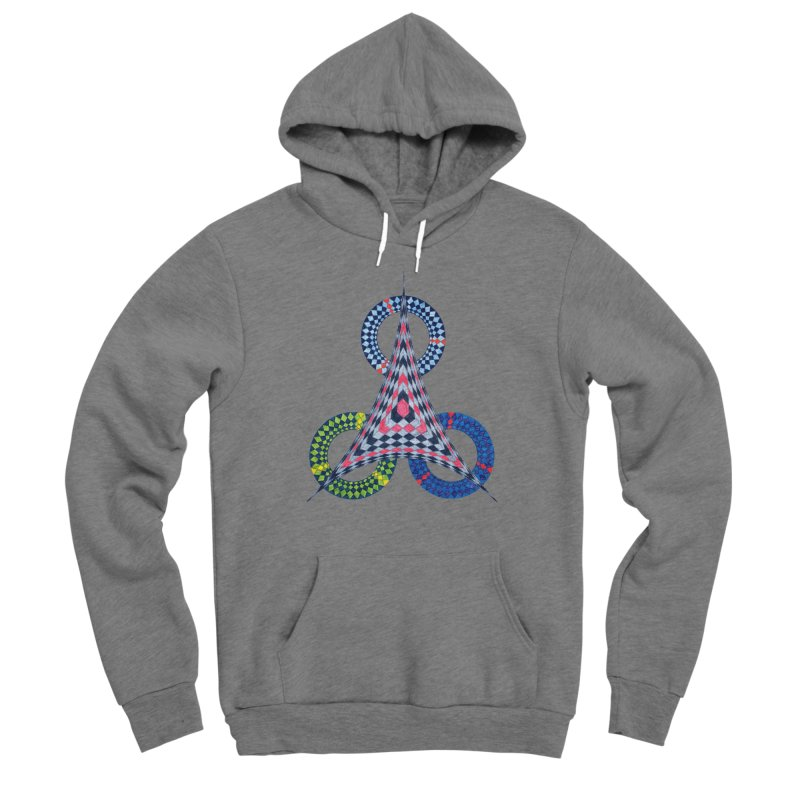 Triple Shot Men's Pullover Hoody by Damon Davis's Shop
