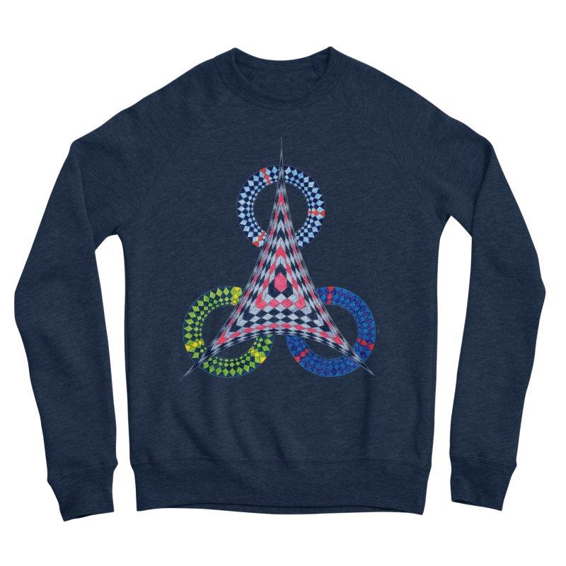 Triple Shot Men's Sweatshirt by Damon Davis's Shop
