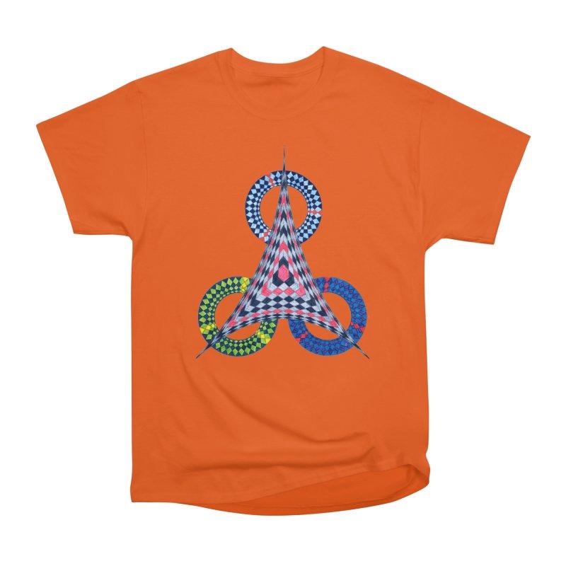 Triple Shot Men's T-Shirt by Damon Davis's Shop