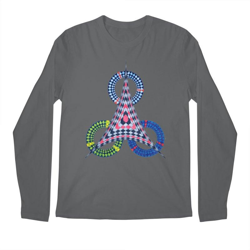 Triple Shot Men's Longsleeve T-Shirt by Damon Davis's Shop