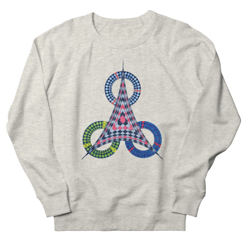 Triple Shot Men's Sweatshirt by Damon Davis's Shop