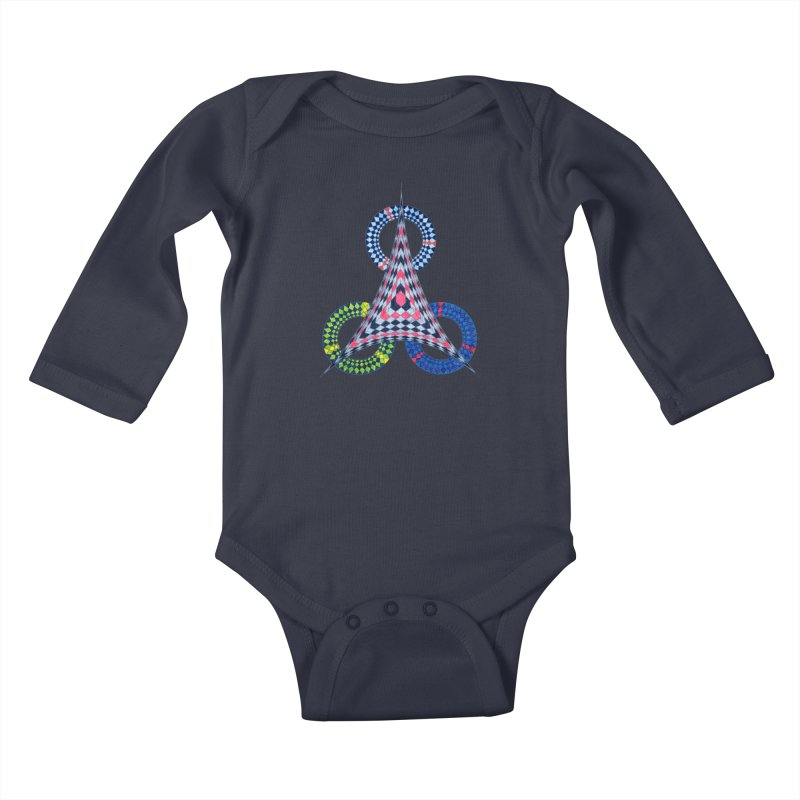 Triple Shot Kids Baby Longsleeve Bodysuit by Damon Davis's Shop