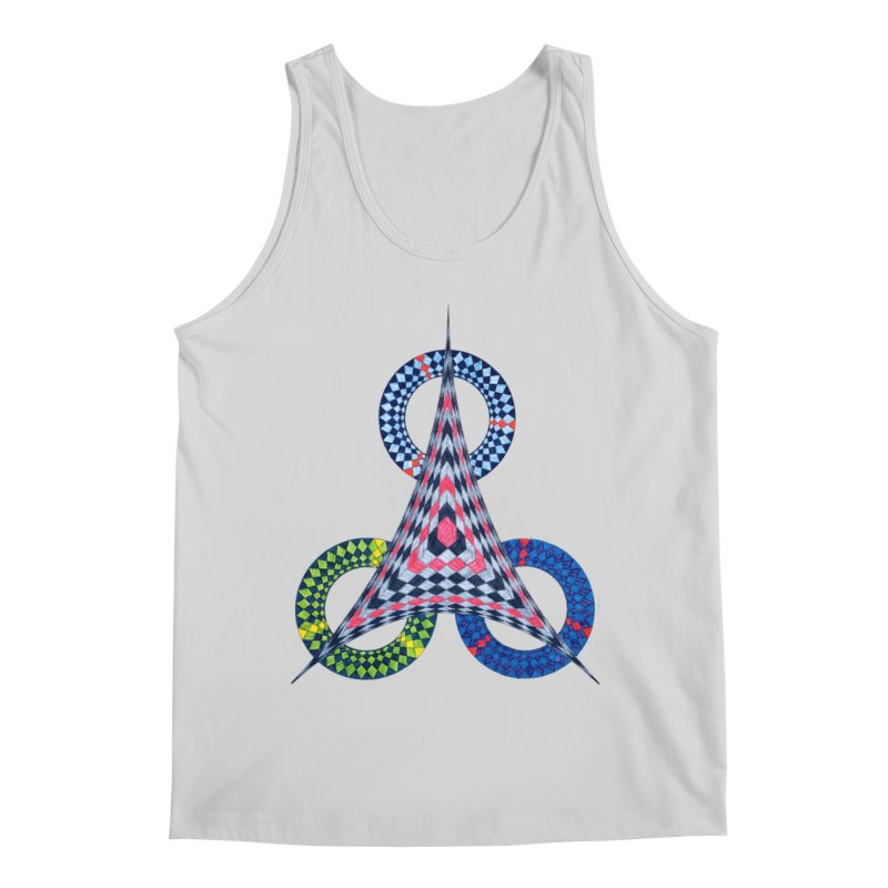 Triple Shot Men's Tank by Damon Davis's Shop