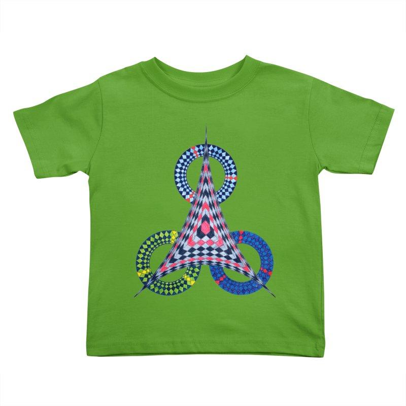 Triple Shot Kids Toddler T-Shirt by Damon Davis's Shop