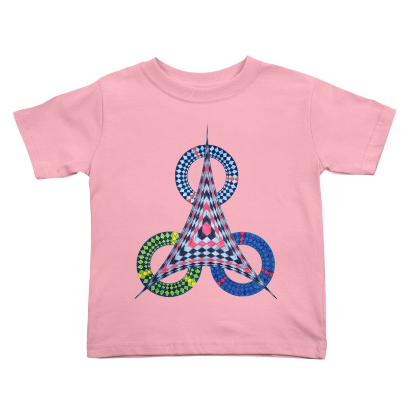 Triple Shot Kids Toddler T-Shirt by Damon Davis's Shop