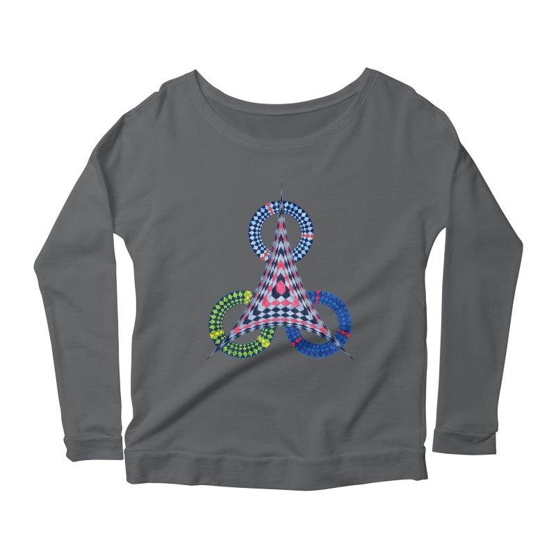 Triple Shot Women's Longsleeve T-Shirt by Damon Davis's Shop