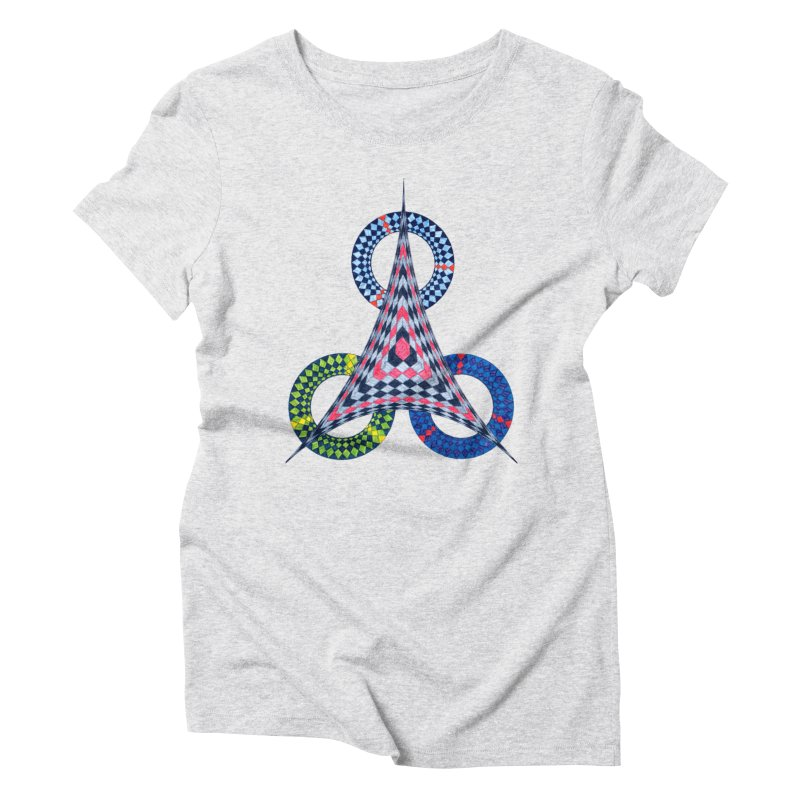 Triple Shot Women's T-Shirt by Damon Davis's Shop