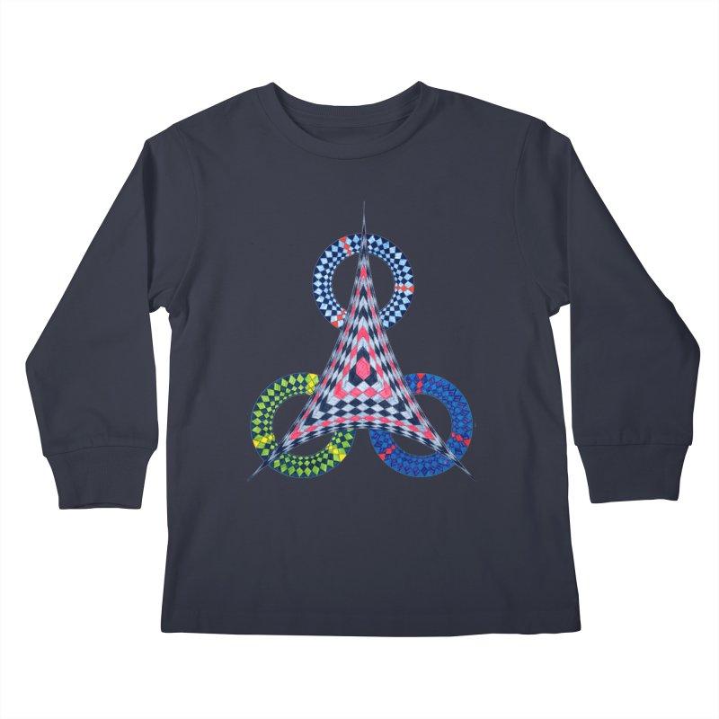Triple Shot Kids Longsleeve T-Shirt by Damon Davis's Shop