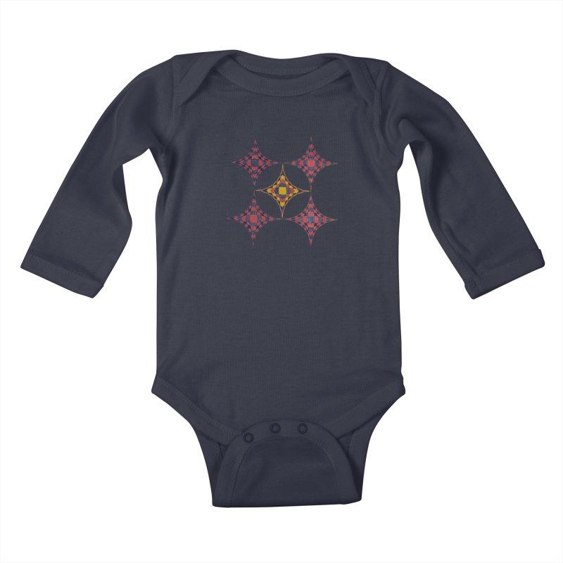 Quint Star Kids Baby Longsleeve Bodysuit by Damon Davis's Shop