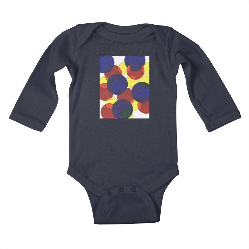 Circ Us Kids Baby Longsleeve Bodysuit by Damon Davis's Shop