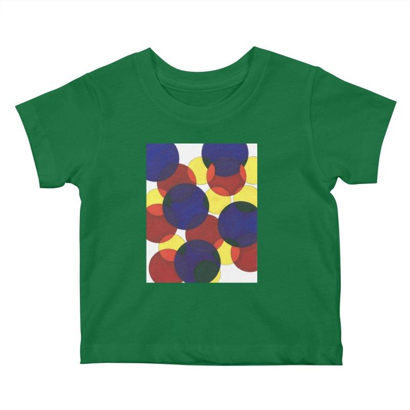 Circ Us Kids Baby T-Shirt by Damon Davis's Shop