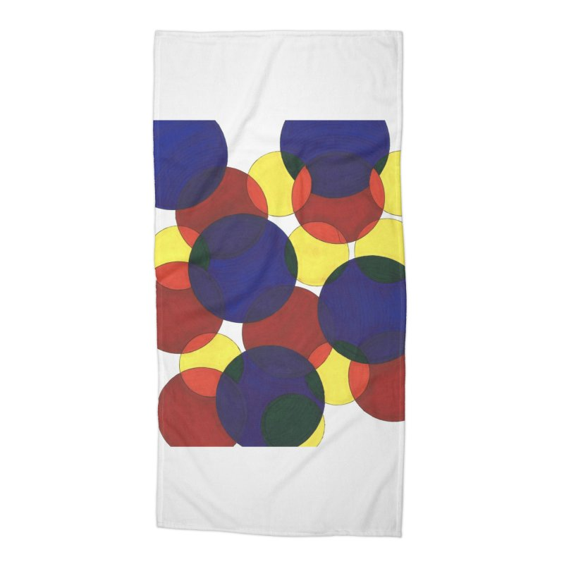Circ Us Accessories Beach Towel by Damon Davis's Shop